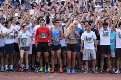 Más de 800 participaron en la Carrera del Lobo