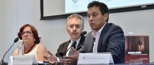 Teresa Morfín, Javier Eduardo García de Alba y Armando Ibarra