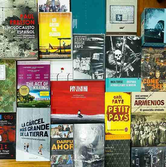 Letras, imágenes y arte sobre genocidio