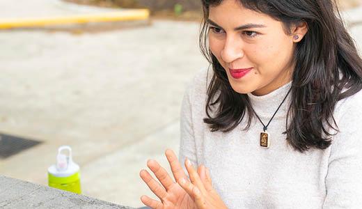 Sofía Orta, entre  la excelencia,  la perseverancia  y los vinos