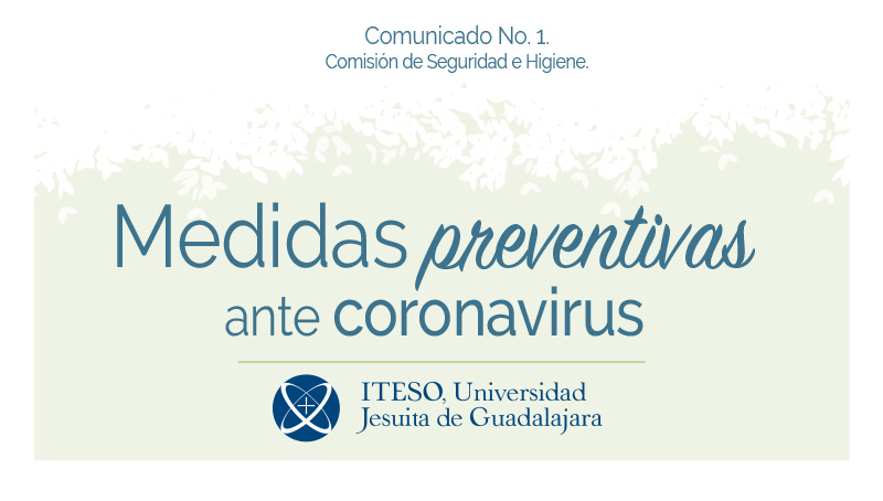 Medidas preventivas ante el Coronavirus
