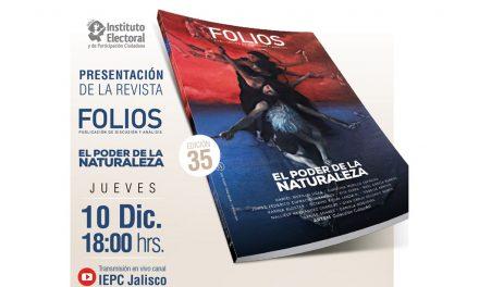 Presentación de la revista Folios, edición 35