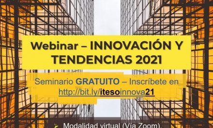 Webinar Innovación y tendencias 2021 para emprender