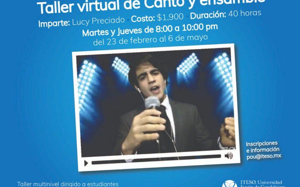 Taller de canto y ensamble (Modalidad virtual)