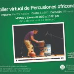 Percusiones africanas (multinivel) Modalidad virtual