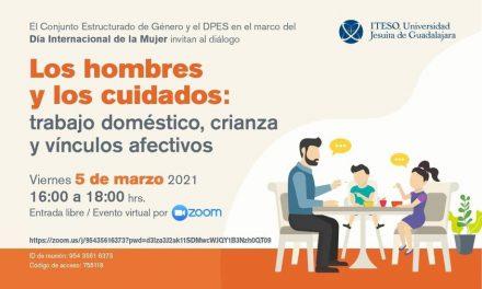 Conferencia: Los hombres y los cuidados: trabajo doméstico, crianza y vínculos afectivos.