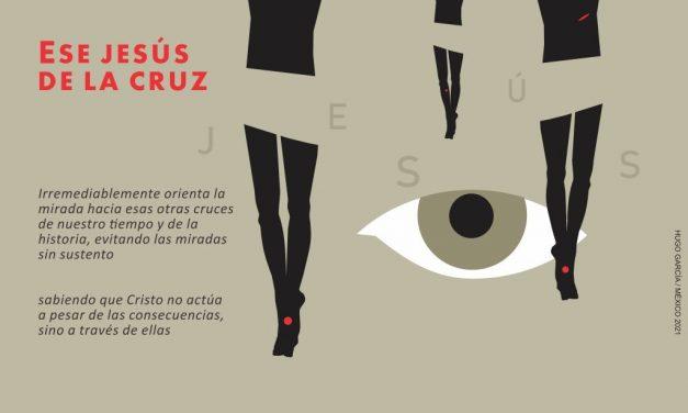 Jesús crucificado hoy, ¿testigos o espectadores?