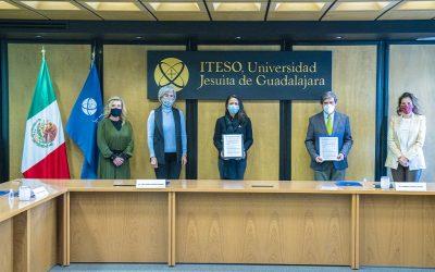 ITESO firma convenio con el CCME