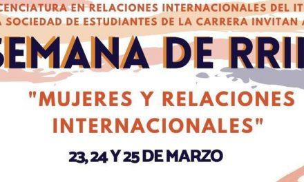 Semana de Relaciones Internacionales 2021