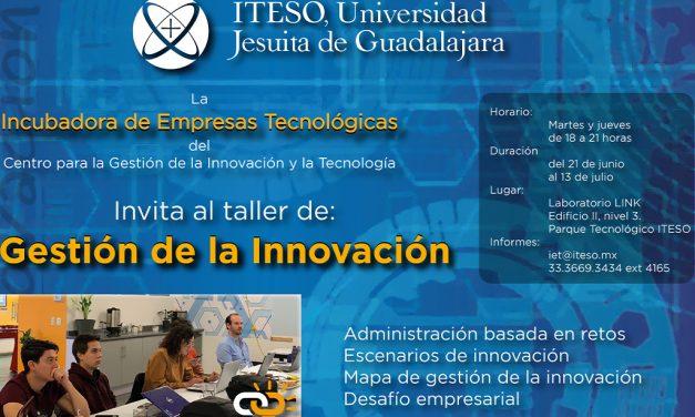 Taller de gestión de la innovación