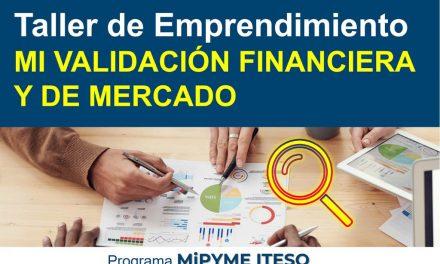 TALLER – MI VALIDACION FINANCIERA Y DE MERCADO