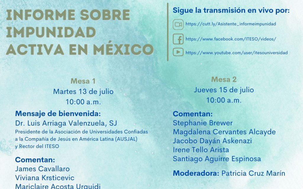 Informe sobre impunidad activa en México