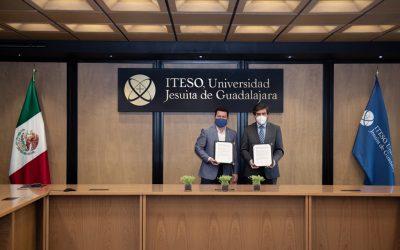 El ITESO y AT&T México firman convenio de colaboración