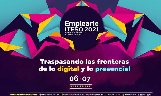 Emplearte ITESO 2021: Jornadas de empleo y emprendimiento